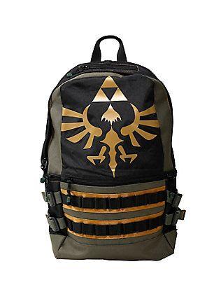 The Legend Of Zelda Triforce Built Backpack 40a53523cc968