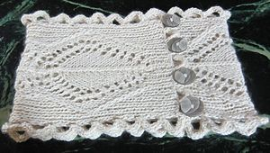 Ravelry: Quartette Cowl pattern by Beverly S. $4.00 - uses Cascade Yarns Epiphany or other sport weight yarn.