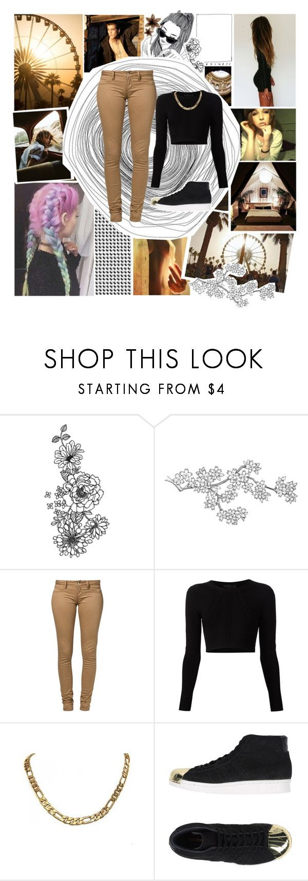 """""""We almost knew what love was"""" by andyrosexxx on Polyvore featuring Été Swim, Monkee Genes, Cushnie Et Ochs and adidas Originals"""