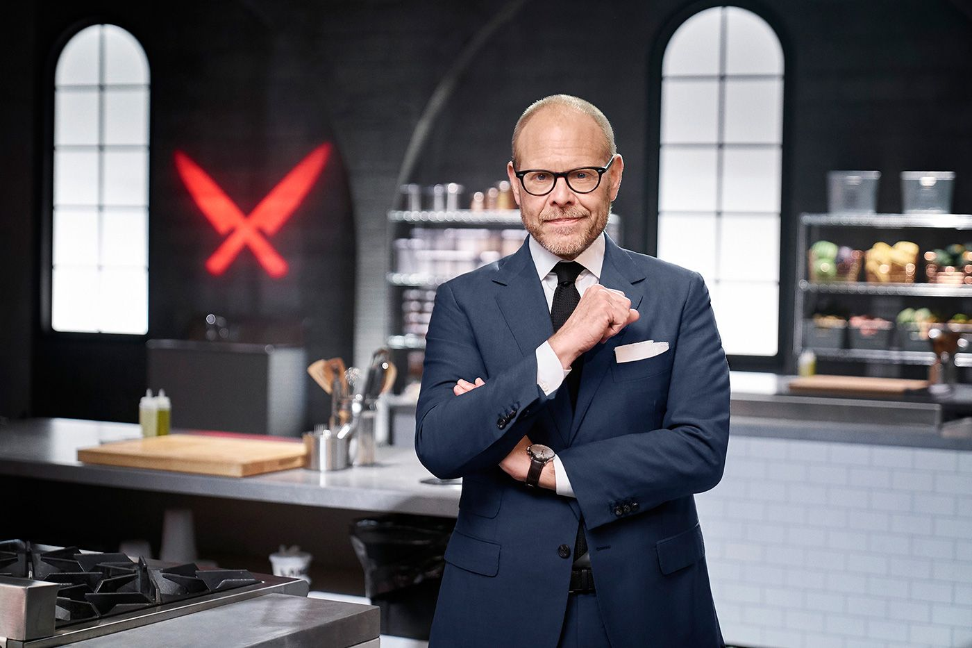 Alton Brown On The Return Of Iron Chef Gauntlet Alton Brown