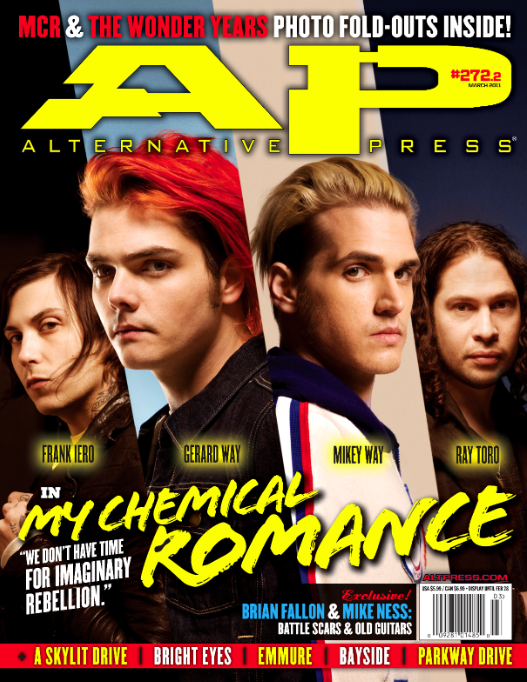 My Chemical Romance - Issue 272 - March 2011
