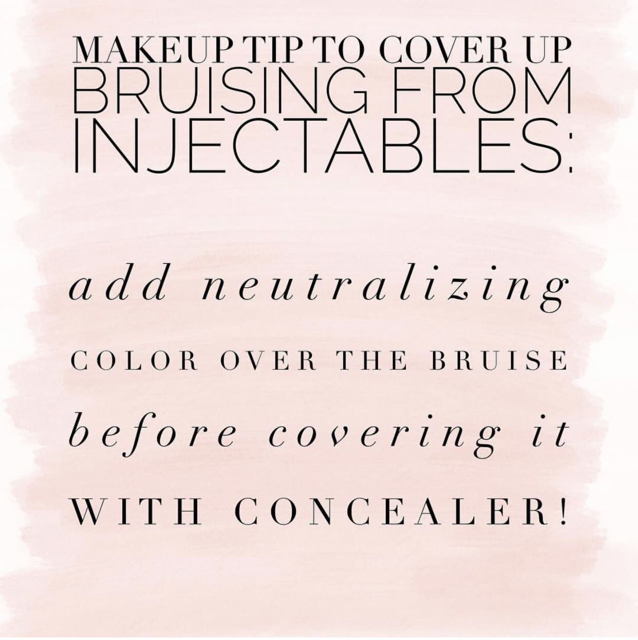 Tips and tricks to cover up unwanted bruising! Best skin