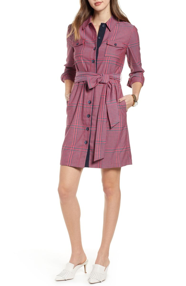 dd9816010356 Free shipping and returns on 1901 Belted Utility Dress (Regular  amp  Petite)  at