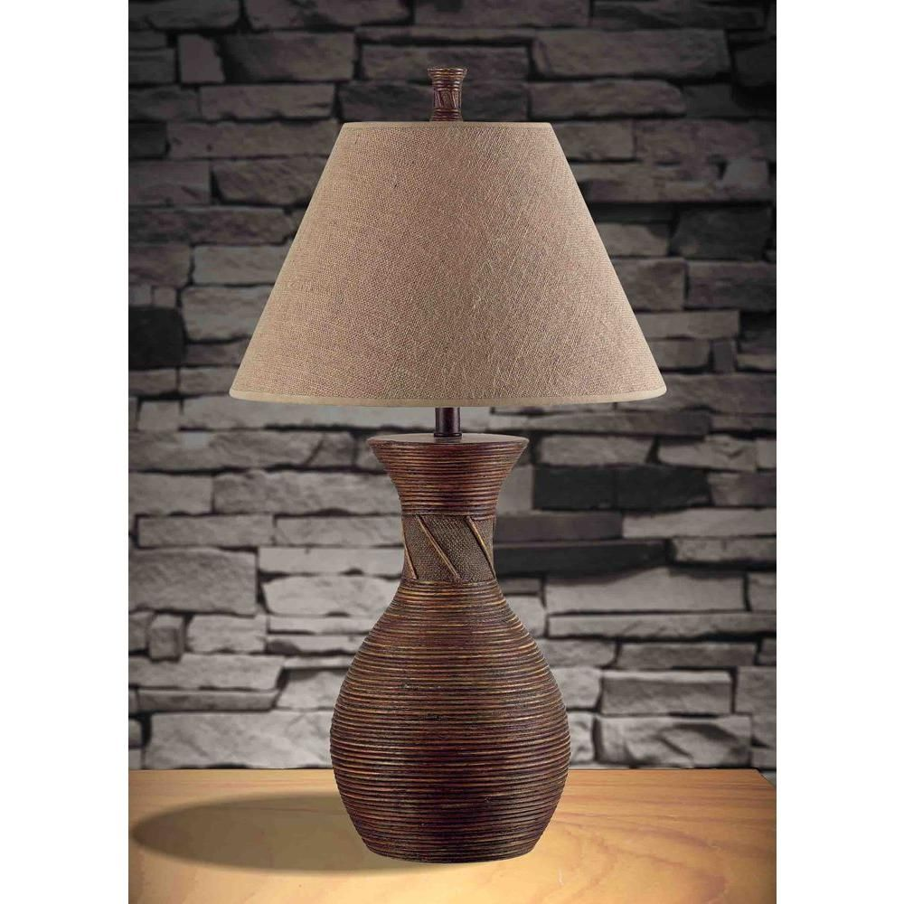 Kenroy Home Santiago 31 In Natural Reed Table Lamp 20390nr The Home Depot In 2021 Natural Table Lamps Table Lamp Table Lamp Wood