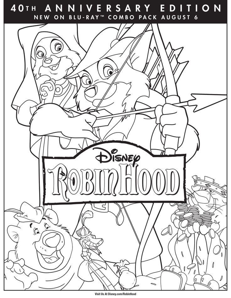 Disney Robin Hood Coloring Pages httpfullcoloringcomdisney
