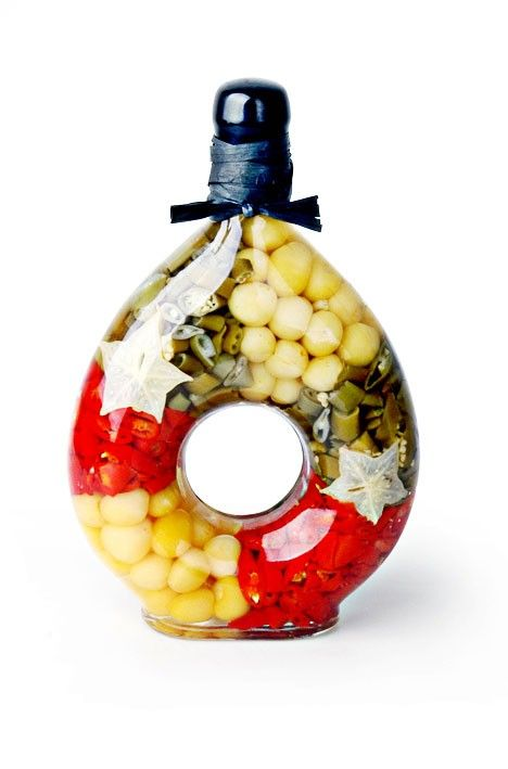 Decorative Vinegar Bottle Gvb2516 Foro Decorated Vinegar Bottle  Kitchen Bottles
