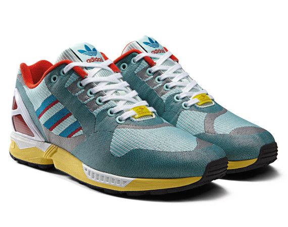 8f7b993759cbb Yellow Mens Blue Save Time Adidas Zx Flux Weave Gore Tex Pack ...
