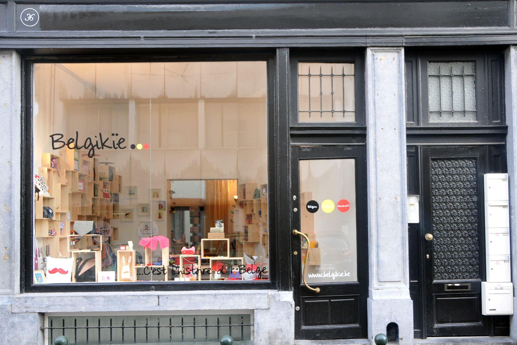 Boutique de créateurs 100% belges. Idéal pour cadeaux et souvenirs.