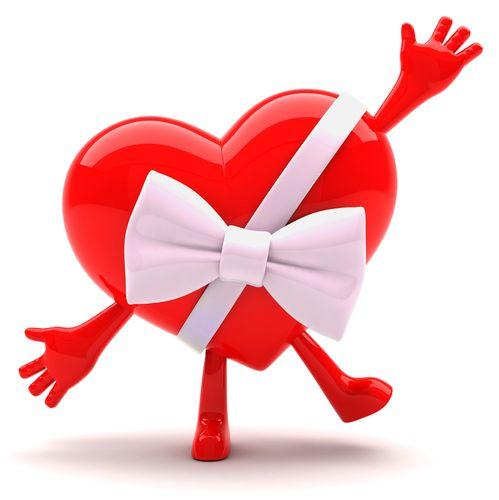 Gift Heart Love Symbols Emoticon Smiley