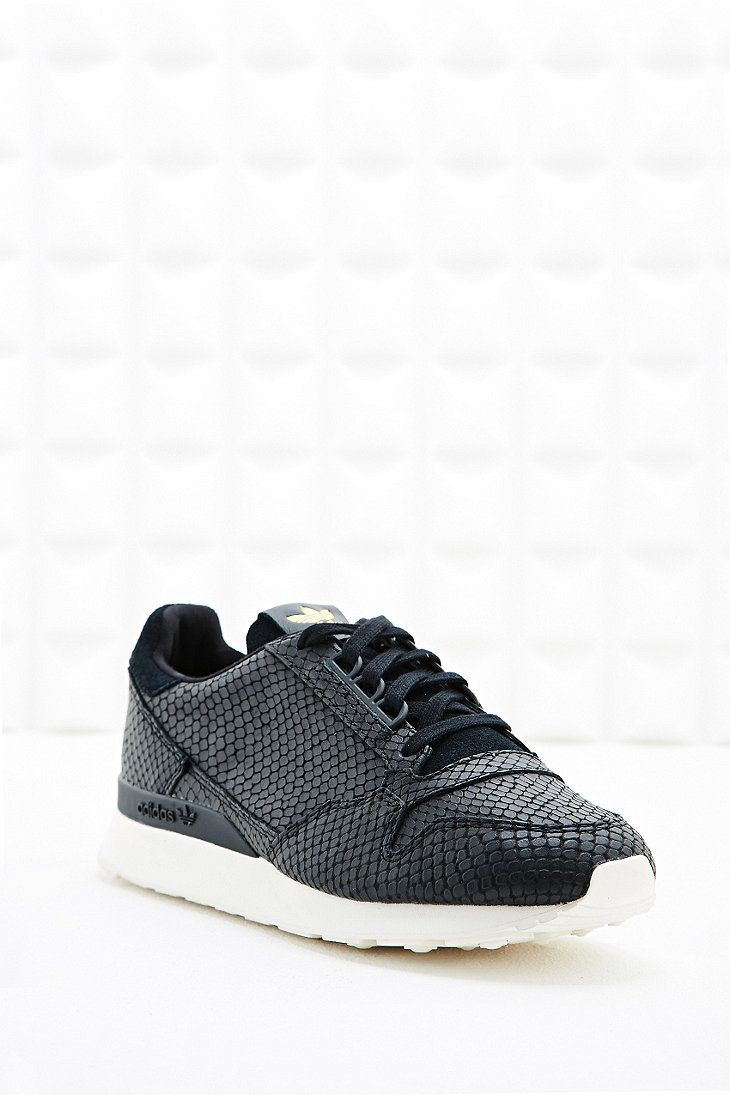 adidas ZX500 Snake Leather Trainers in Black | Baskets en