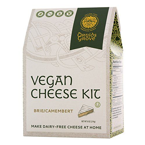 Druids Grove Vegan Briecamembert Kit Nondairy Cheese Vegan Nongmo Glutenfree You Can Find Out More Details At The Vegan Mozzarella Dairy Free Diet Vegan