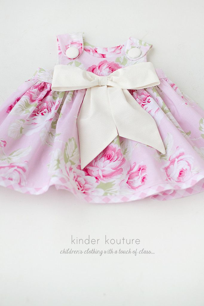 baby rose dress 0 3 pinterest mode b b fille cousu main et mode b b. Black Bedroom Furniture Sets. Home Design Ideas