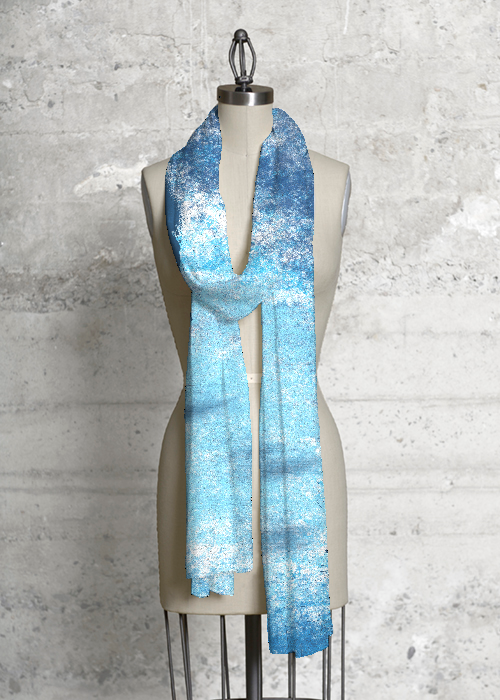 Modal Scarf - Winter Waters by VIDA VIDA Low Price Cheap Online Cheap Sale Explore Amazon Footaction TVMMqf