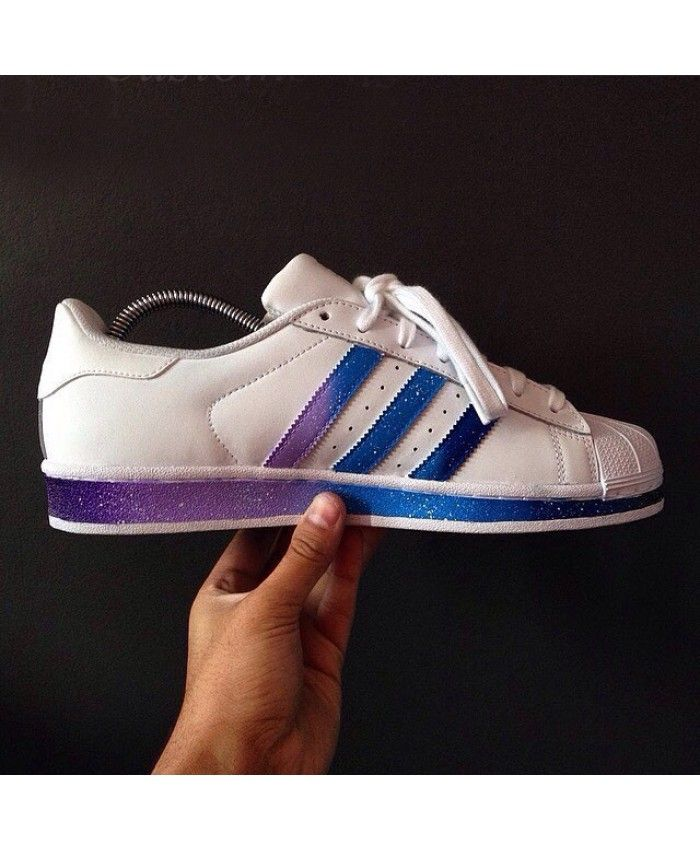 Adidas Superstar II gradient