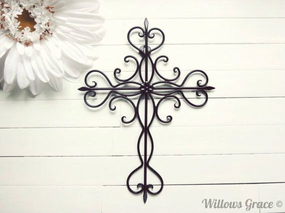 Pin by Emily Roman on Home design | Pinterest | Cross wall art ...