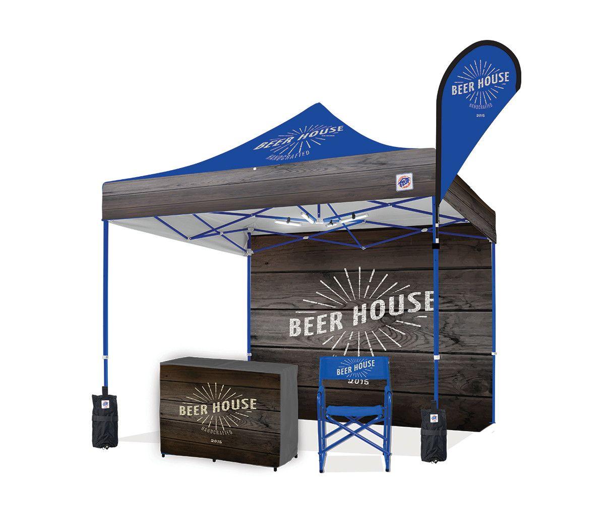 Custom Event Tents Custom Graphics On E Z Up Canopies