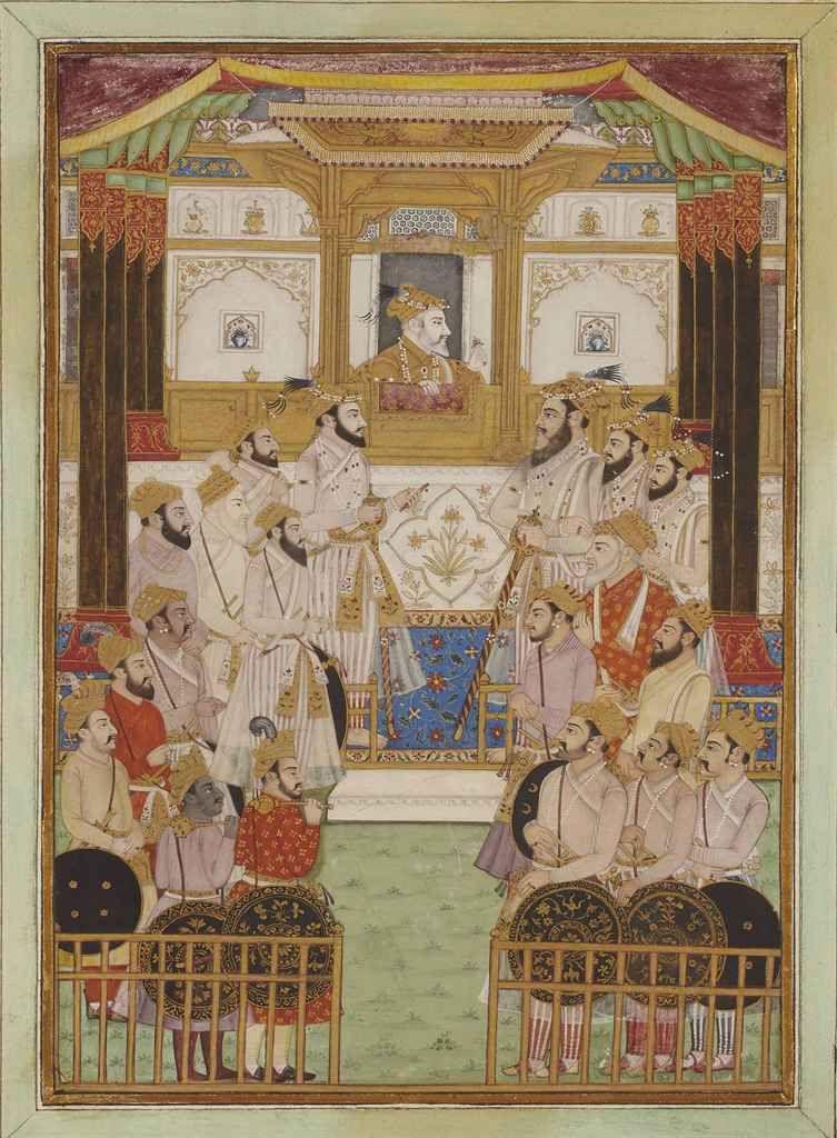 Durbar of Aurangzeb
