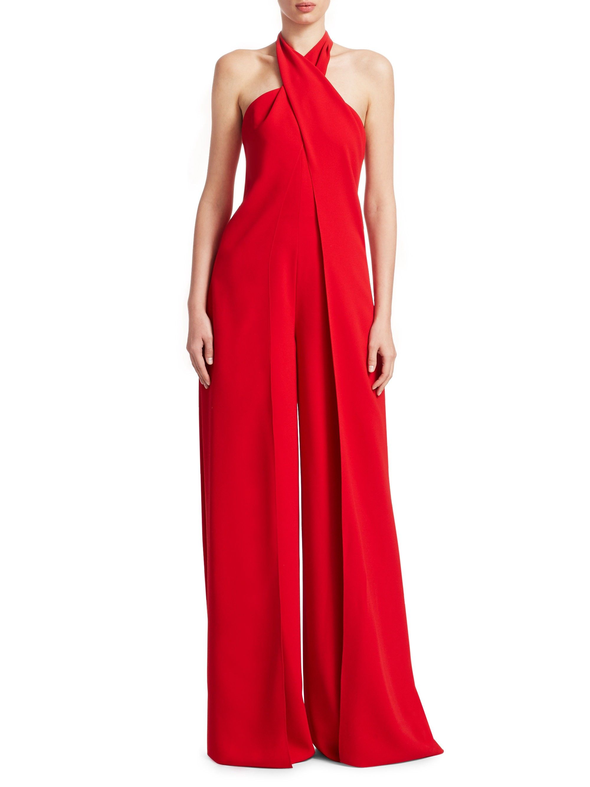 Adelaide Halter Drama Jumpsuit By Ralph Lauren Products