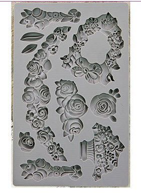 Prima Iod Moulds Fleur Silicone Mold Etsy Iron Orchid Designs Plaster Crafts Art Decor