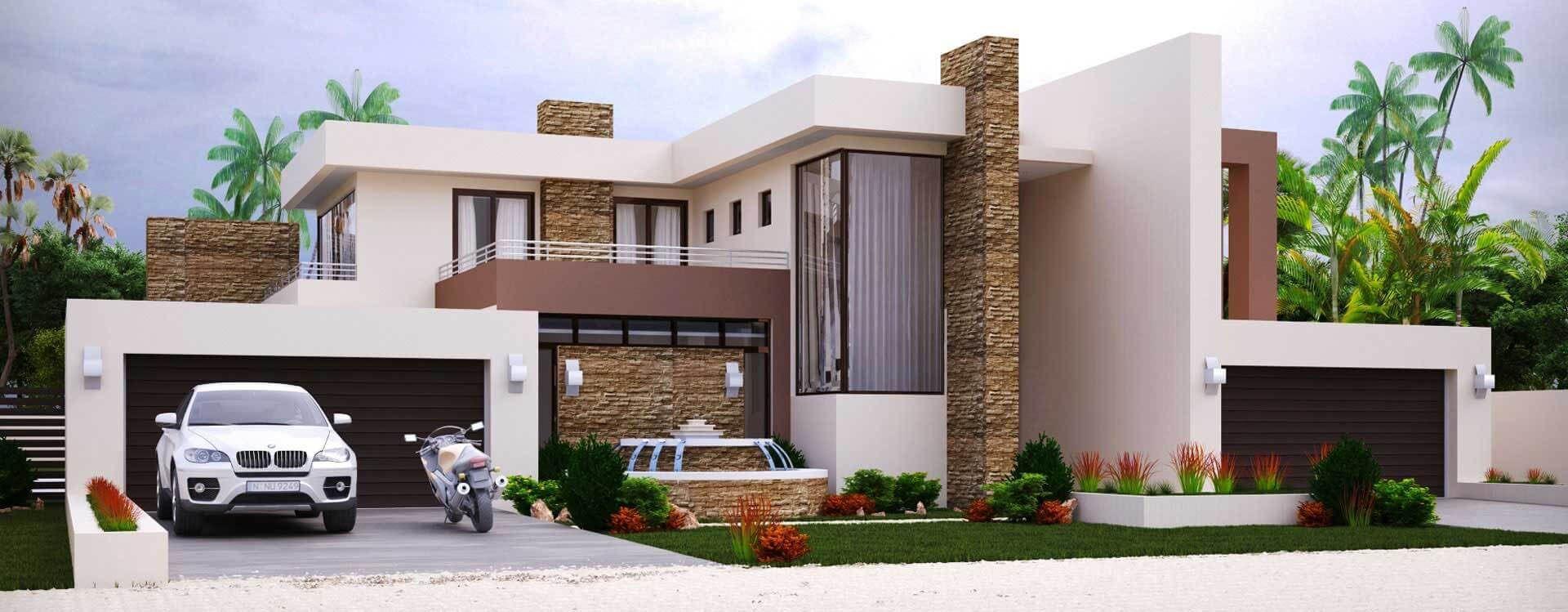 4 Bedroom House Plan 8211 M497d House Plans For Sale House Plans South Africa Modern Style House Plans