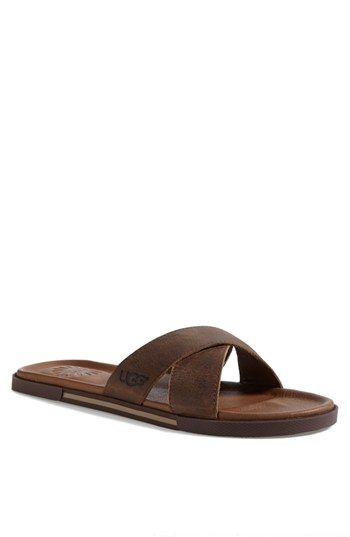 e0f4845fc UGG® Australia  Ithan  Slide Sandal (Men s) available at  Nordstrom ...