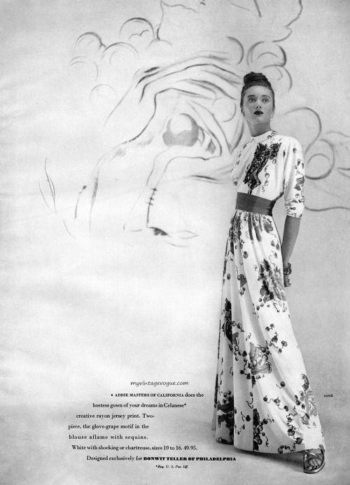 Celanese / Bonwit Teller 1945