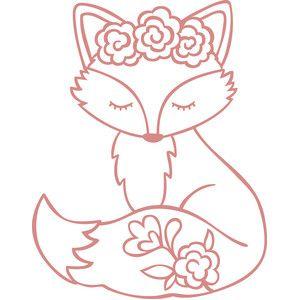 Boutique Silhouette Design: Fox   – basteln