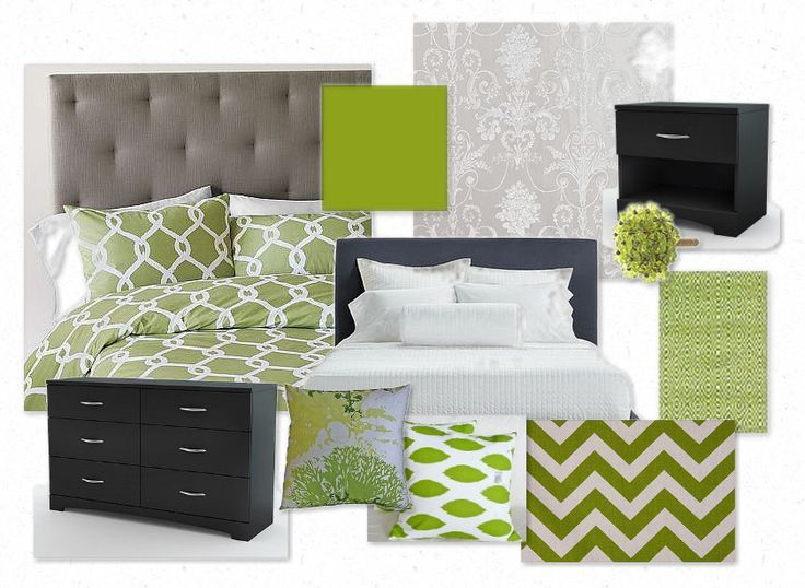 Best The Attractive Green Bedroom Color Schemes And Top 25 Best 400 x 300