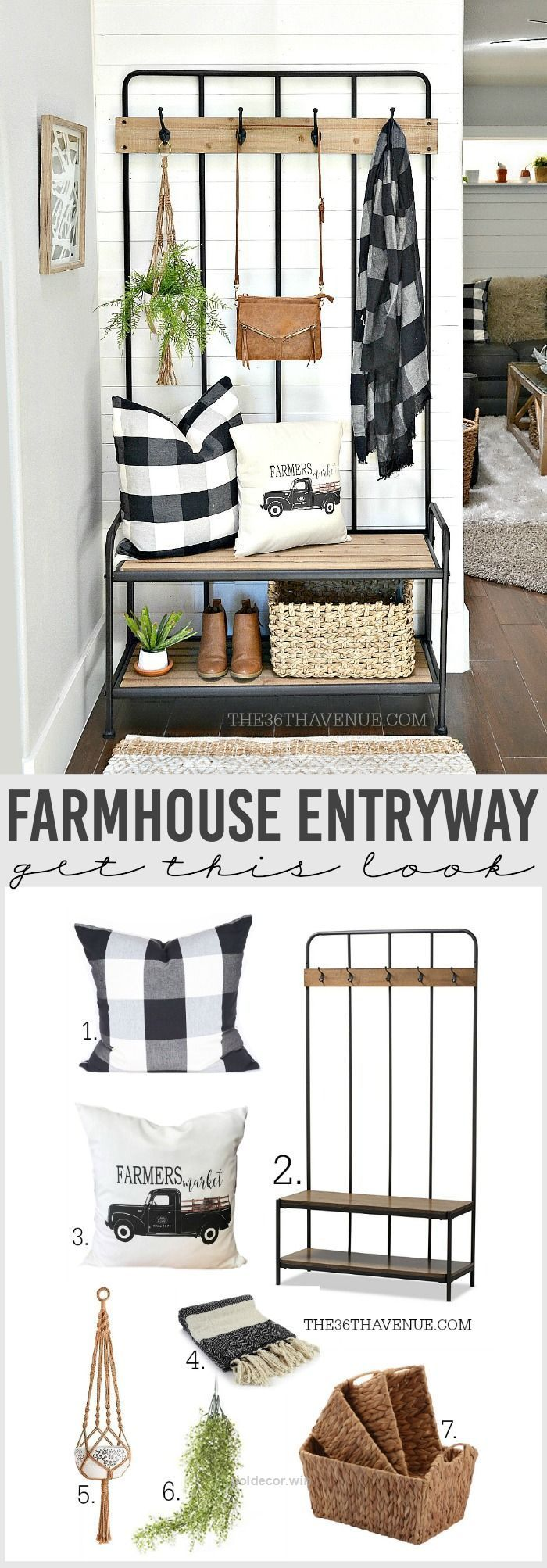 Splendid Beautiful And Versatile Farmhouse Entryway Decor Ideas That Are  Affordable And Easy To Put Together