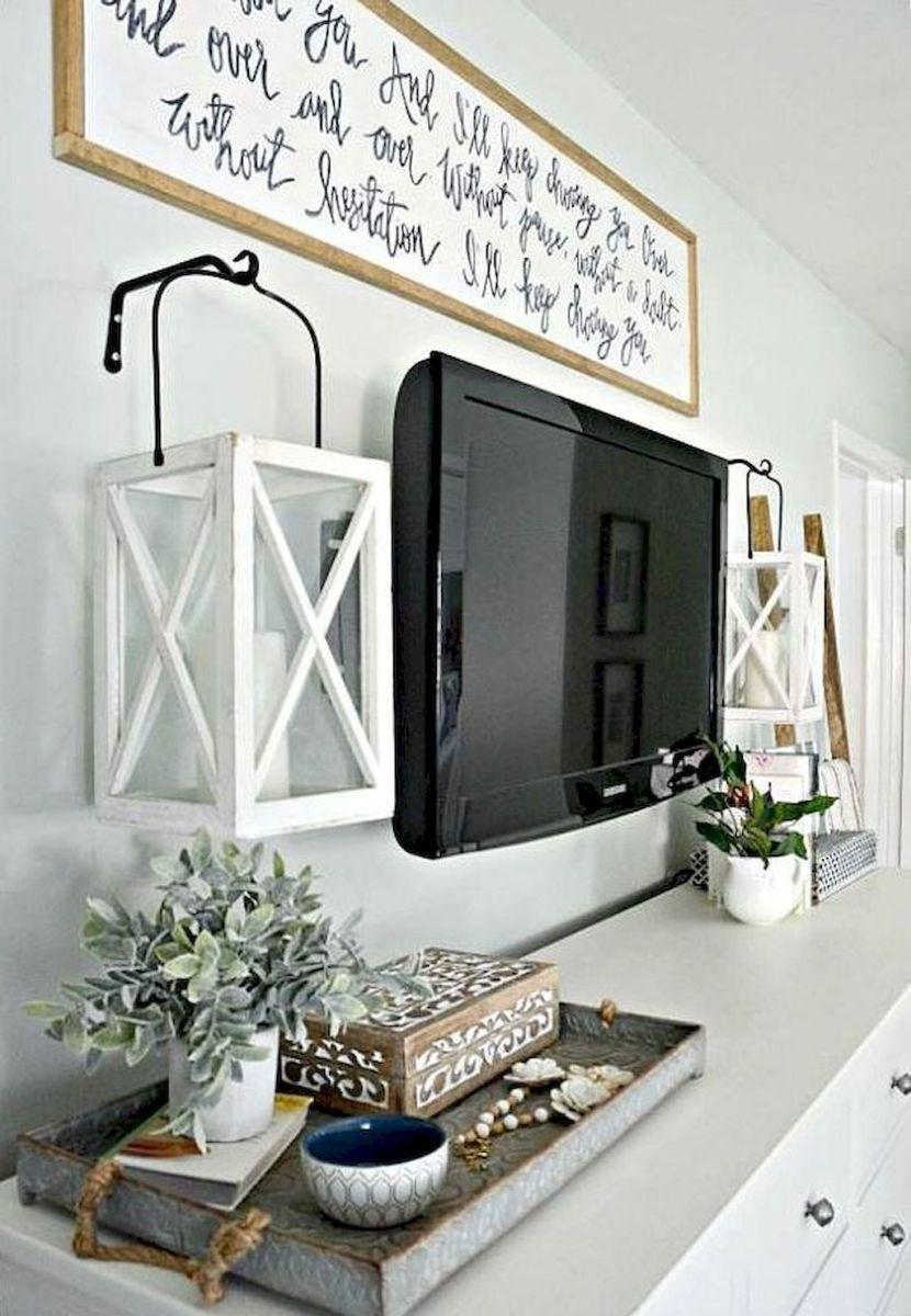66 best farmhouse living room remodel ideas (16 | Farmhouse living ...