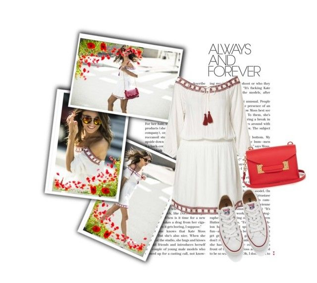 """Always And Forever"" by esmestar04 ❤ liked on Polyvore featuring Dorothy Perkins, Sophie Hulme and Converse"