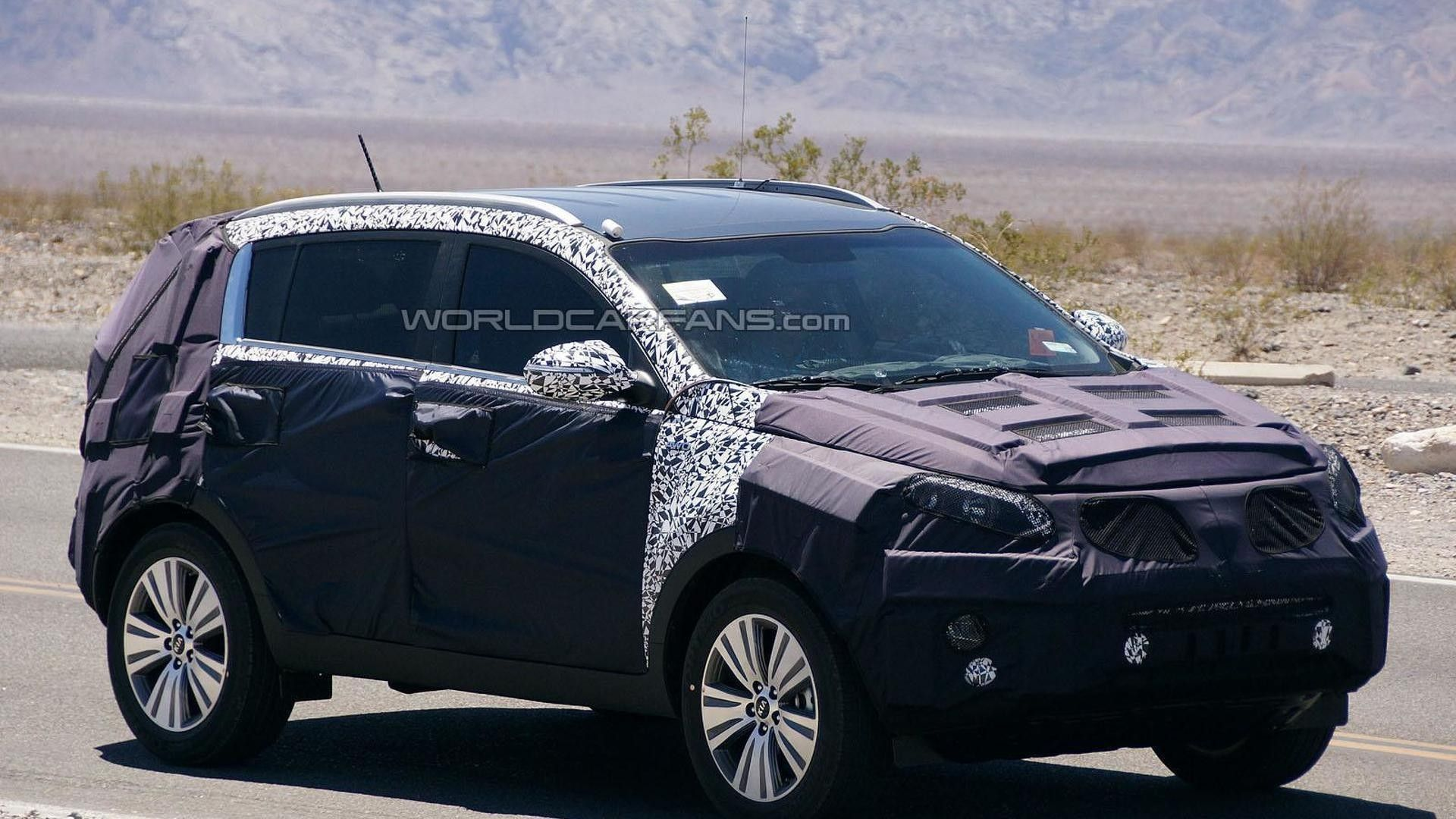 2019 KIA SportageSpy Shots Redesign and Price   Car ...