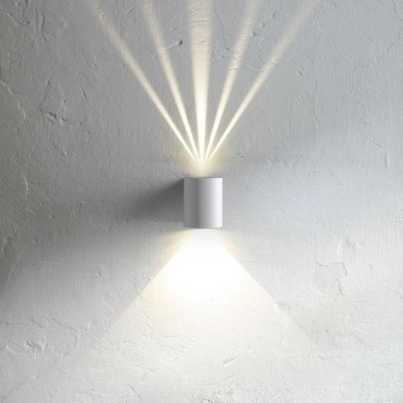 SKAPETZE - Baleno / LED-Wandleuchte für Aussen und Innen / weiss