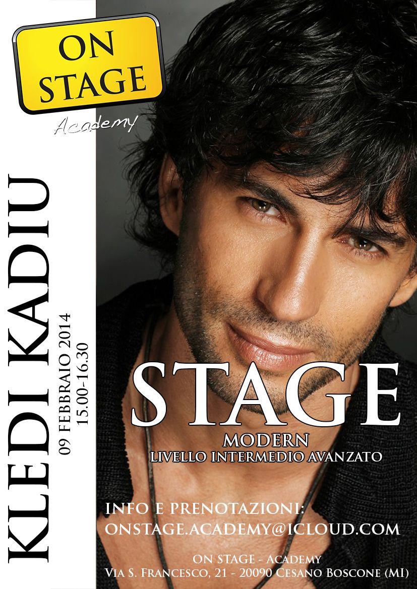 Stage di danza con KLEDI KADIU