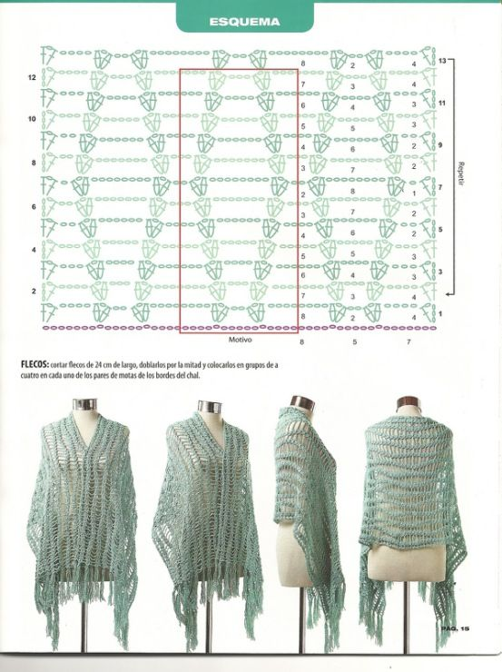 Pin de heidy bernarda en Ganchillo de la moldes en blusa | Pinterest ...