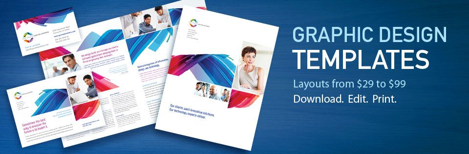 StockLayouts Graphic Design Templates - Brochures, Flyers - flyers and brochures templates