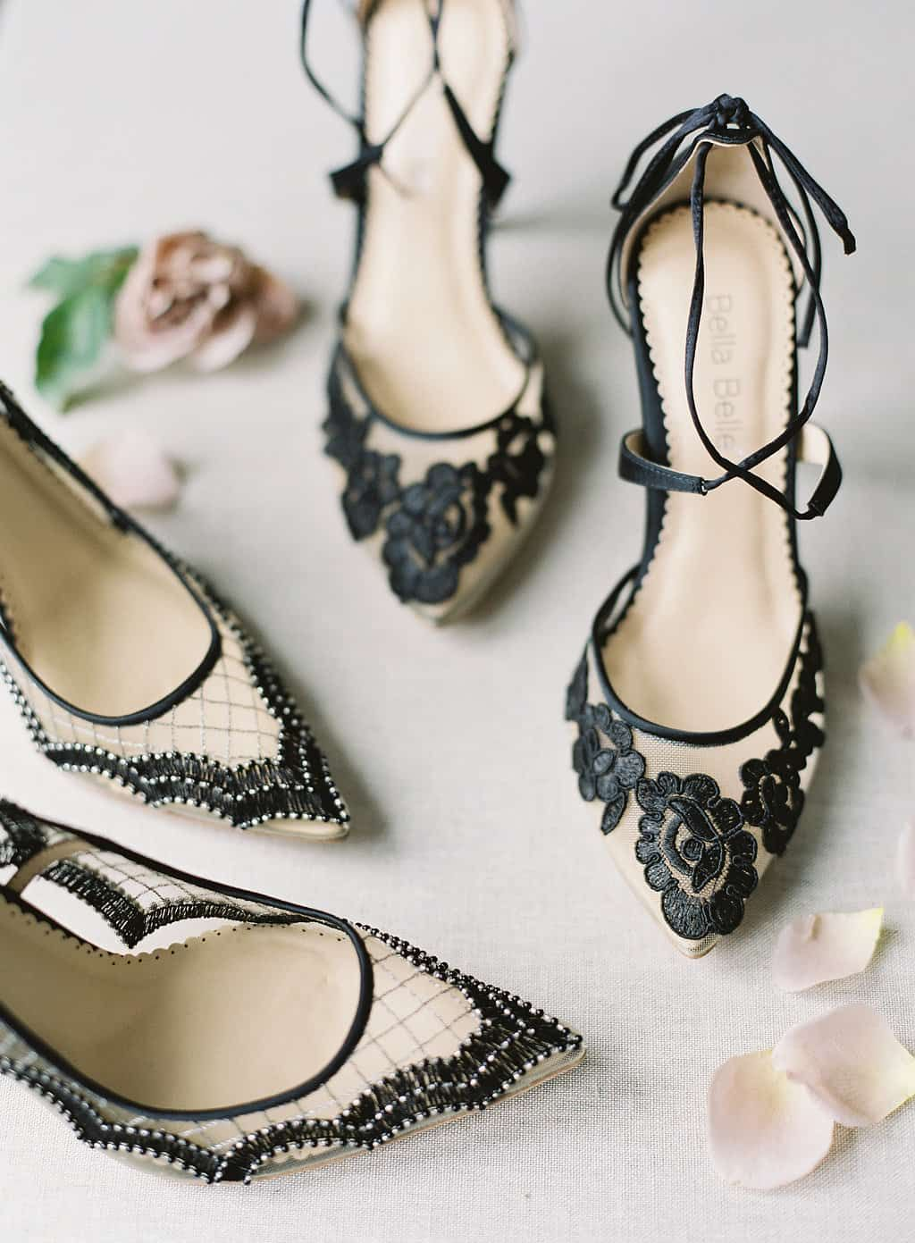 Beautiful and Comfortable Wedding Shoes by Bella Belle
