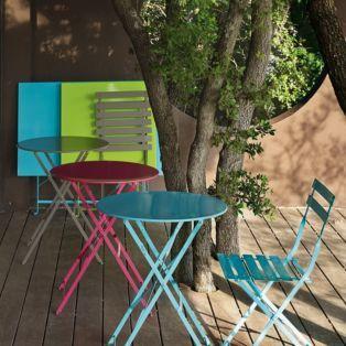 Table verte pliante Vert menthe à l\'eau - Pims - Alinea | Jardin ...