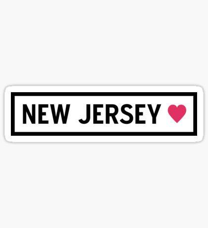 17c3daa46 New Jersey Stickers