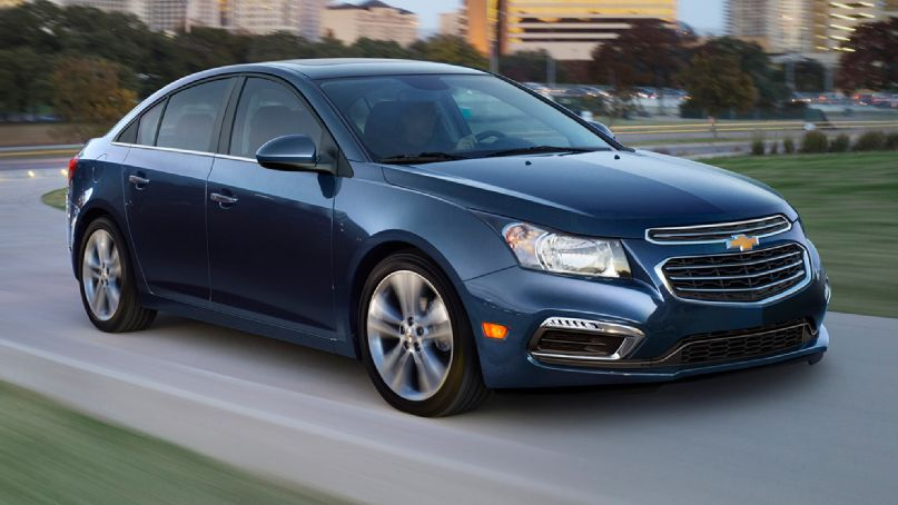 2015 Chevrolet Cruze Facelifted At New York Show Chevy Cruze