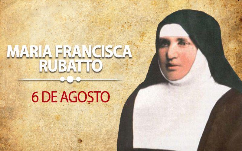 Maria Francisca Rubatto | Oração, Mensagens