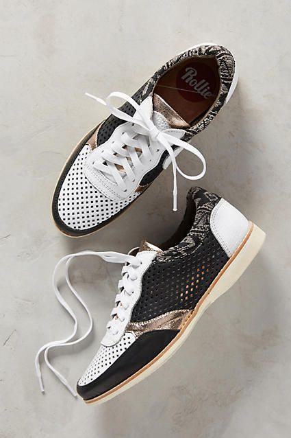 Rollie Nation Punch Black Burrow Sneakers