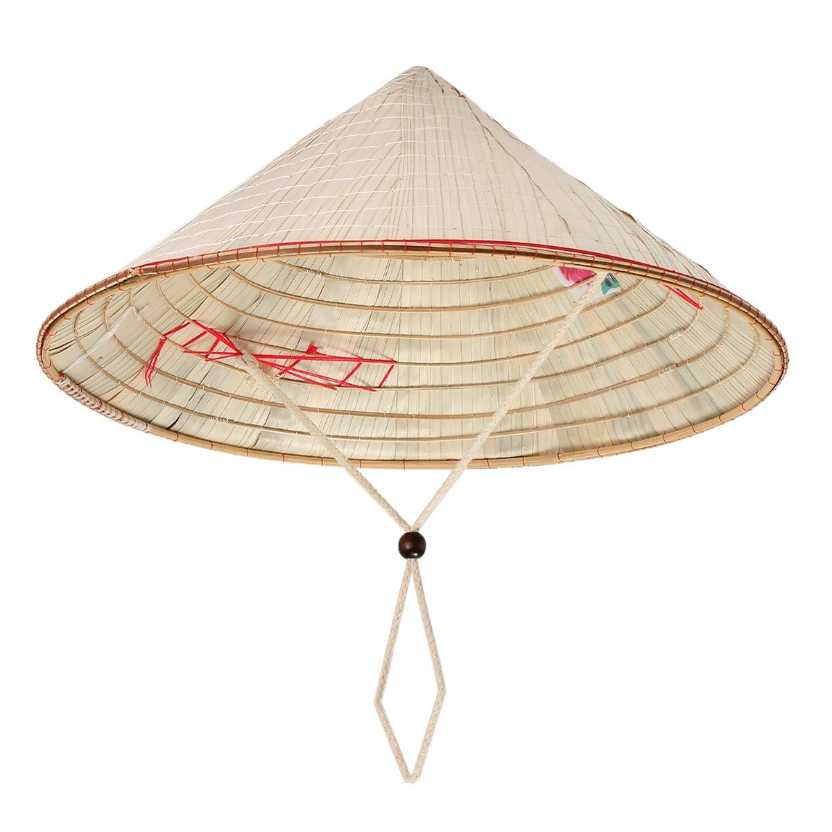 e292fcb04ab Chinese Oriental Asian Farmer Straw Bamboo Hat Leaf Vietnamese Vietnam Rice  Hats Cone Garden Fishing Sun Cap Traditional Dance