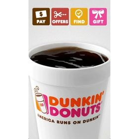 Dunkin' Donuts customers now can pay through Apple's
