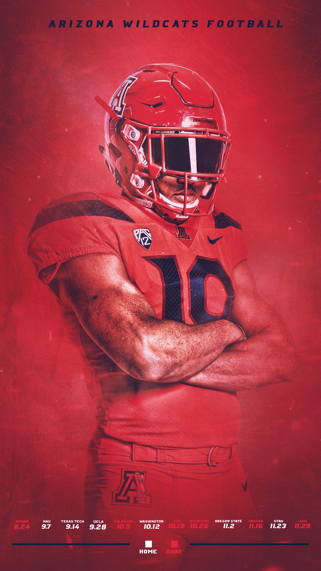 2019 Arizona Football Content on Behance in 2020 Sports