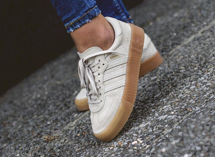 zapatillas adidas sambarose mujer