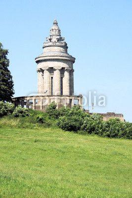 The Burschenschaftsdenkmal Stands On A Hill Opposite The Wartburg In Eisenach Thuringia And Was Built In 1902 It Is In Memory O Eisenach Thuringen Stadt Land
