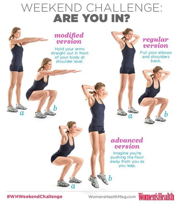 Pin By Women S Health Magazine On Wh Weekend Challenge Exercise Fitness Motivation Workout