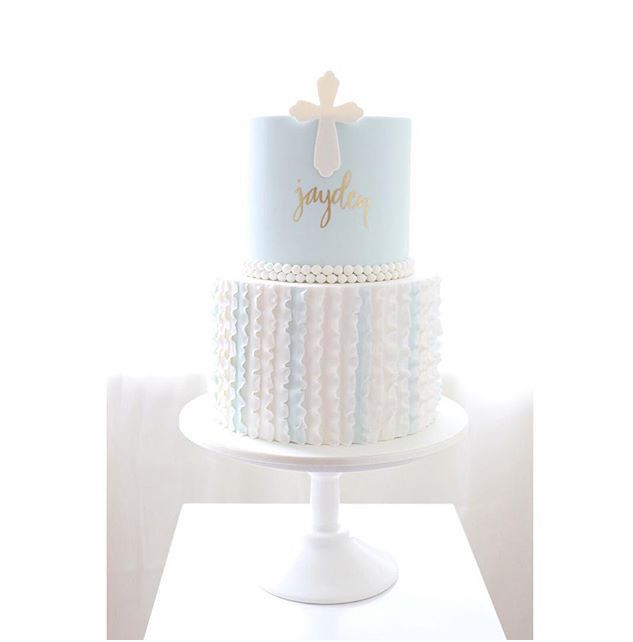 Pin by Julie Ann on Let Them Eat Cake in 2019 | Christening