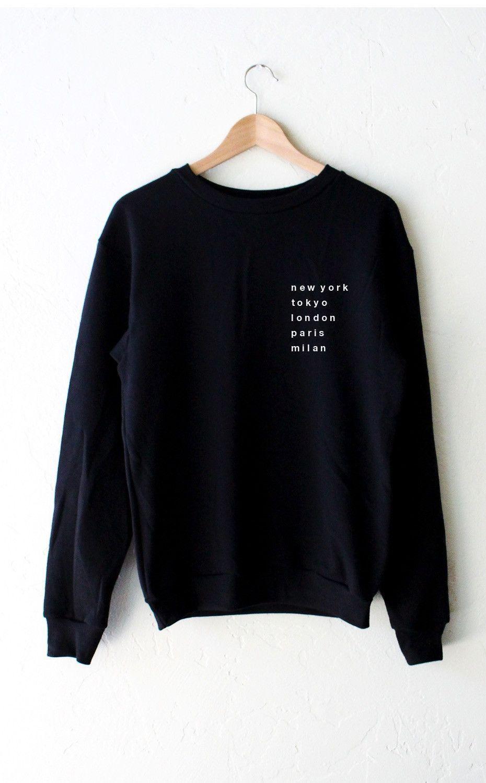 4c9e28f44241 Cities Oversized Sweatshirt